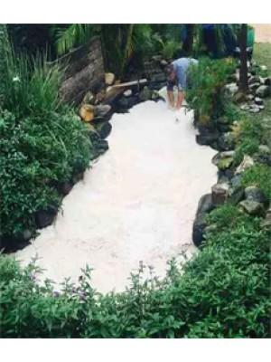 Areia Especial Para Lagos e Aquários - Branca - 20 Kg