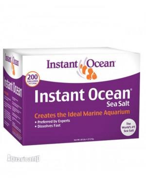 Instant Ocean Sea Salt caixa 27,2 Kg - faz 757 litros