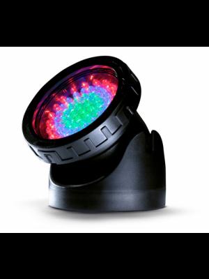 Spot Led Multicor - Holofote para lago e jardim com 60 leds de alto brilho