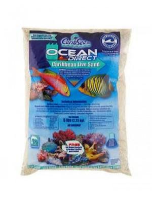 Caribe Sea Ocean Direct Live Oolite Arag Sand com Biologia 9kg