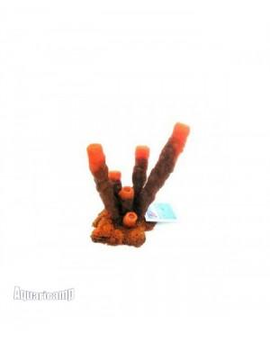 Soma Fish Enfeite de Silicone Coral Esponja Tubo Vermelha - 040261