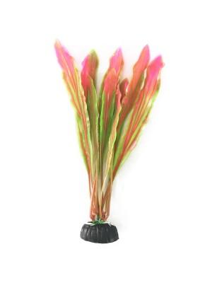 Soma Planta Plástica Rosa e Verde 20cm (053274)
