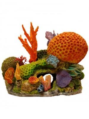 Ornamento Artificial Coral Nemo - C09