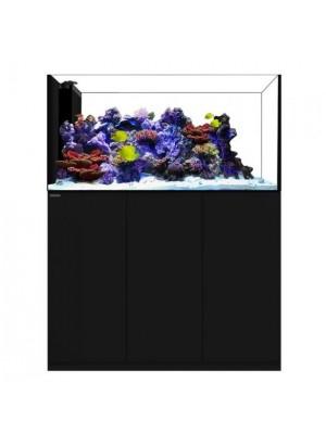 Waterbox Aquarium Crystal - Modelo Península Preto - 492 Litros (Para Divisão de Ambientes)