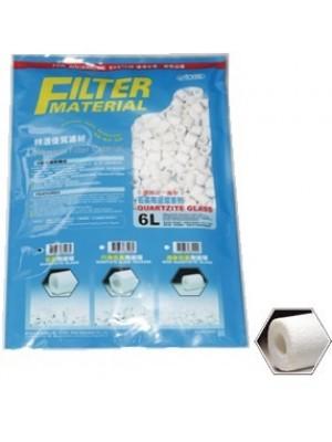 Ista Quartzite Glass 6 Litros - mídia filtrante biológica I-297