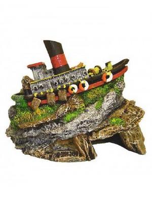 Ornamento Artificial Barco Japonês - B17