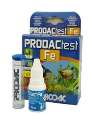Prodac Teste de Ferro (Fe) - Água doce e Salgada
