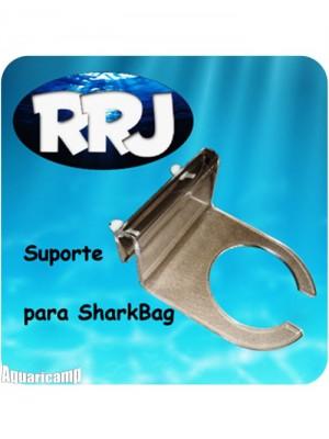 """RRJ Suporte para SharkBag 4"""" Acrílico cristal 6mm"""