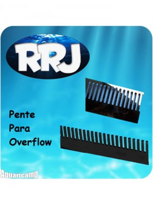 RRJ Pente para Overflow/caída do aquário com 20 cm