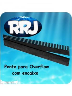 RRJ Pente para Overflow/caída do aquário com 20 cm (encaixe)