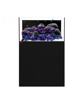 Waterbox Aquarium Silver Marine  Serie - Modelo 70.3 Preto  - 166 Litros