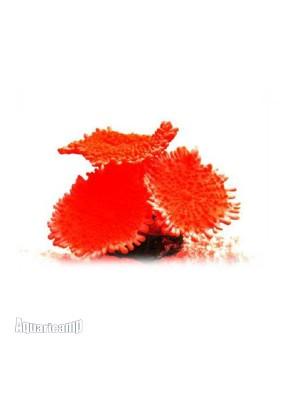 Soma Fish Enfeite de Silicone Coral Mushroom Spotted Vermelho - 040216