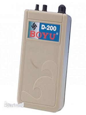 Boyu Compressor de ar a pilha D-200 1,5V