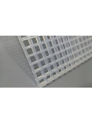 Colmeia Acrílico Cristal 66x33cm Para Aquários
