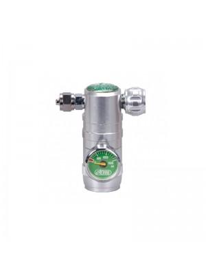 Ista Válvula Simples para CO2 com Manômetro I-590