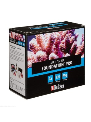 Red Sea Teste Reef Foundation Pro (CA/ALK/MG)